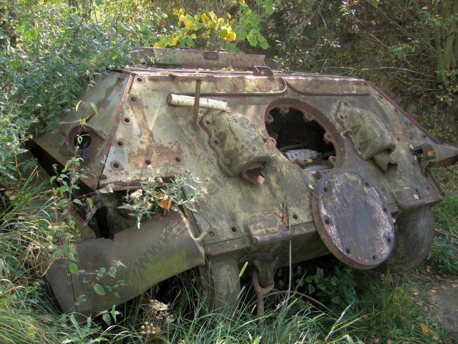 фото танка печь меня это была
